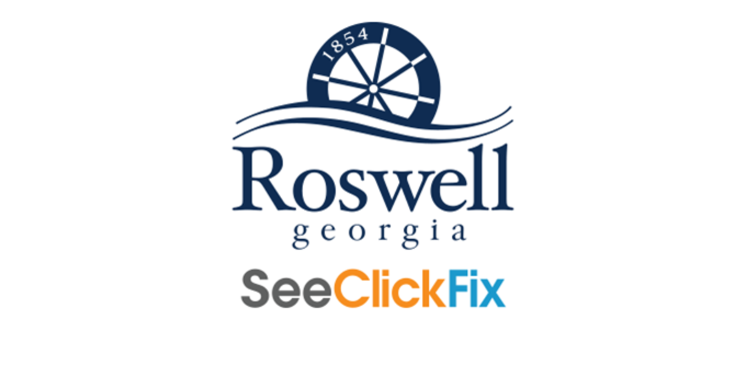 Logo for City of Roswell Georgia