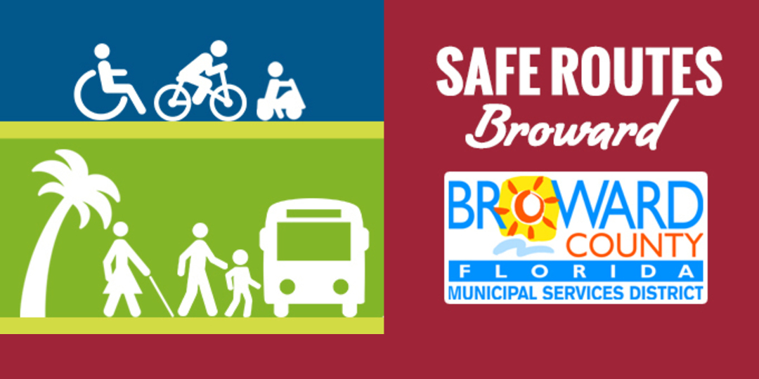 Logo for Safe Routes - Broward County