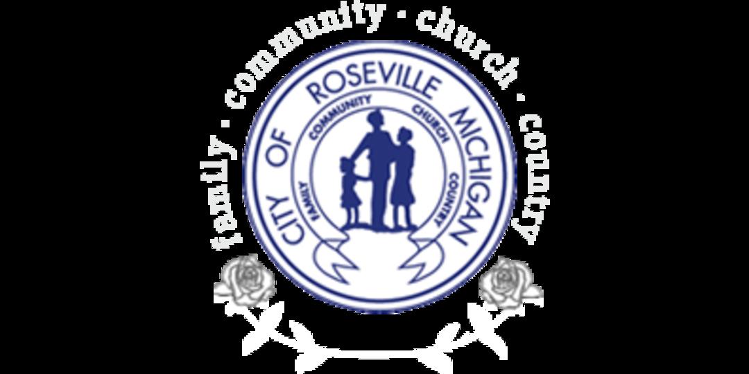 Logo for City of Roseville, MI