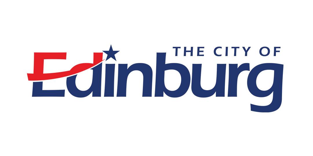 Logo for City of Edinburg, TX