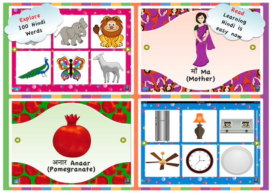 Explore 100 words & Flashcard view