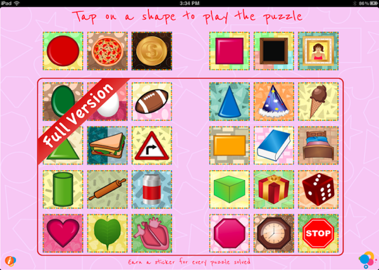 Explore Math Shapes