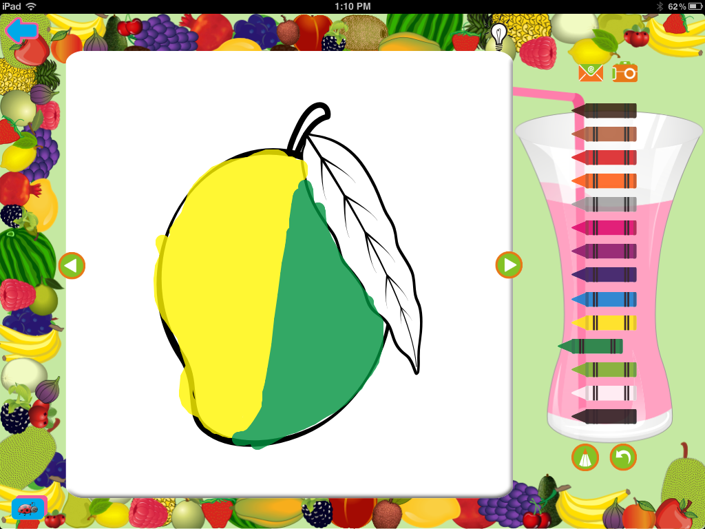 Activity Apps: Preschool Coloring App for iPad and iPhone | Kidosphere