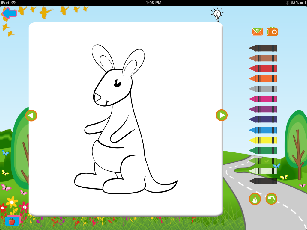 Activity Apps Preschool Coloring App For IPad And IPhone