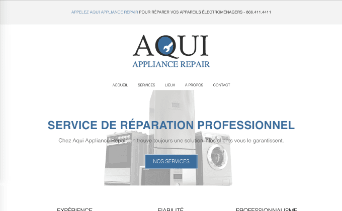 Services de réparations