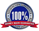 100% Money Back Satisfaction Guarantee