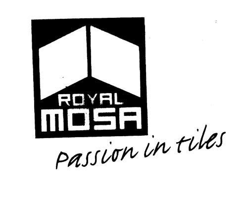 Royal Mosa Passion In Tiles United Kingdom Trademark Brand Information Koninklijke Mosa B V Meerssenerweg 358 6224 Al Maastricht P O Box 1026 6201 Ba Maastricht The Netherlands Nl