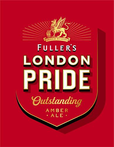 GRIFFIN BREWERY FULLER'S LONDON PRIDE OUTSTANDING AMBER ALE