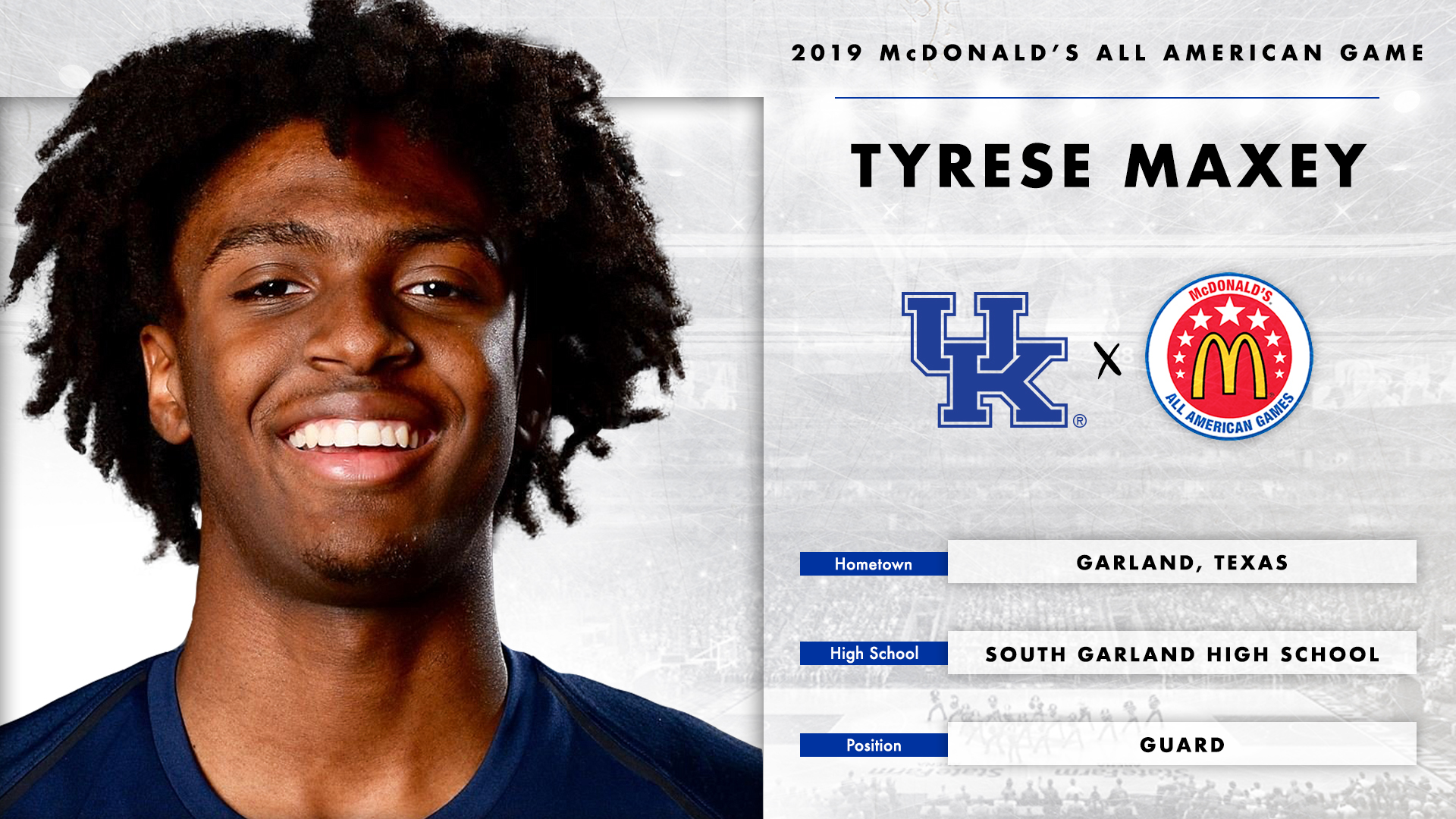Maxey Selected For Mcdonalds All American Game University Of