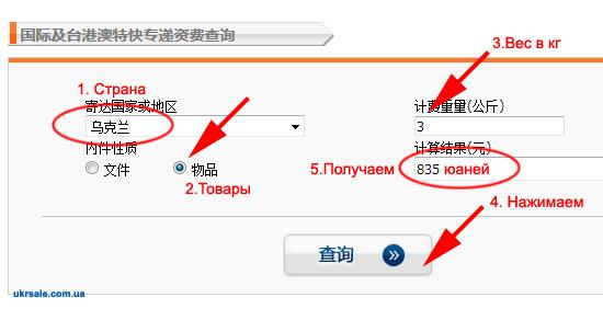 Официальные цены EMS стоимость доставки из Китая