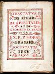 Oratio Grassi, De sphaera (1623)