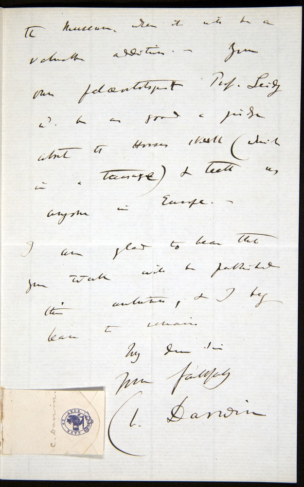Image of Letter-1869-Oct7-Darwin-03
