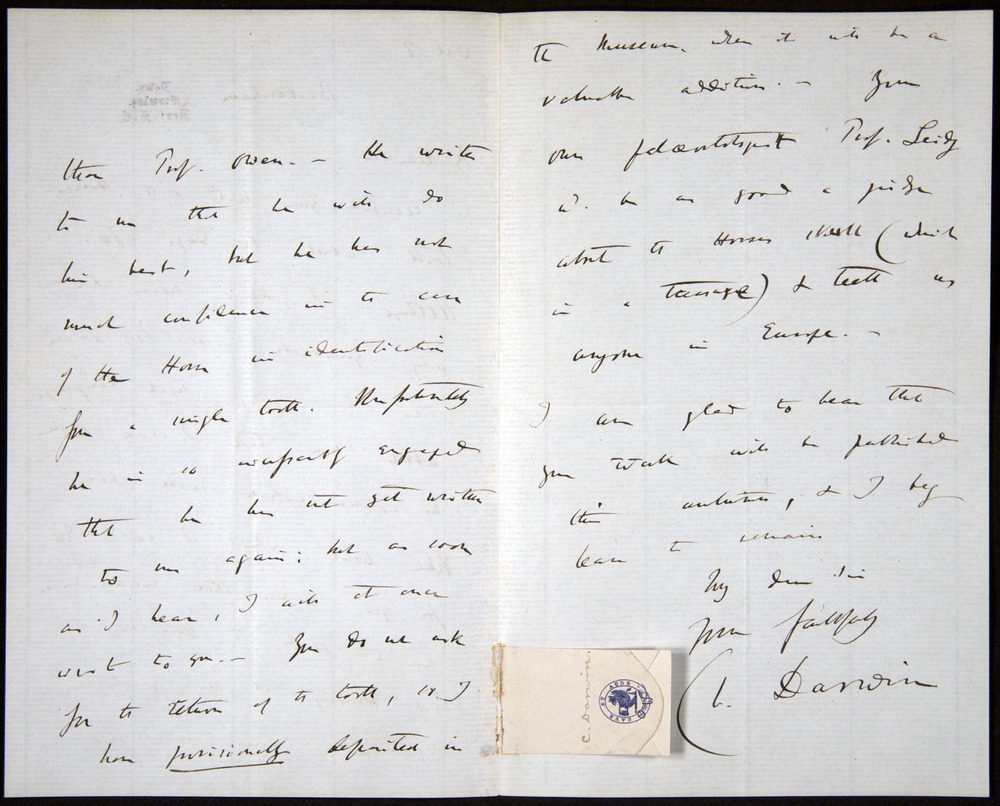 Image of Letter-1869-Oct7-Darwin-05