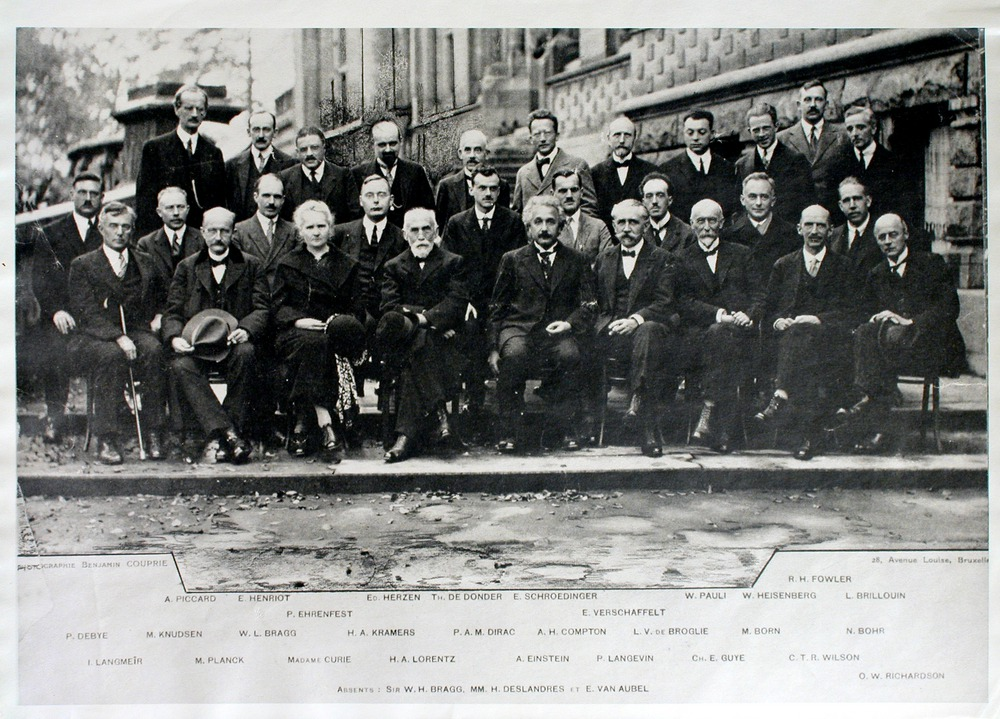 Image of SolvayCongress-1927-Brussels