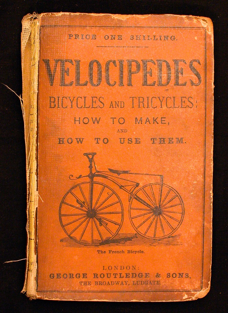 Image of Velocipedes-1869-0cover