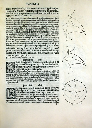 Regiomontanus, Epitome of Ptolemy's Almagest (1496)