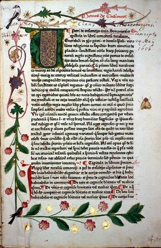 Pietro de Crescenzi, Opus Ruralium Commodorum (Augsburg, 1471)