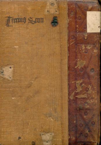 John Duns Scotus, Scriptum super tertio sententiarum (Venice, 1481)