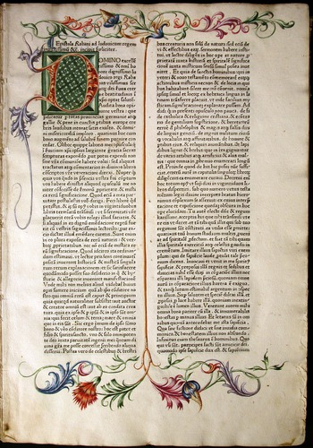 Hrabanus Maurus, De opus universo (1467)