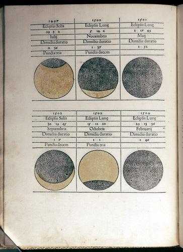 Regiomontanus, Kalendarium (1476)