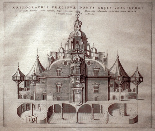 Image of Brahe-Sheets-Uraniborg-view-print