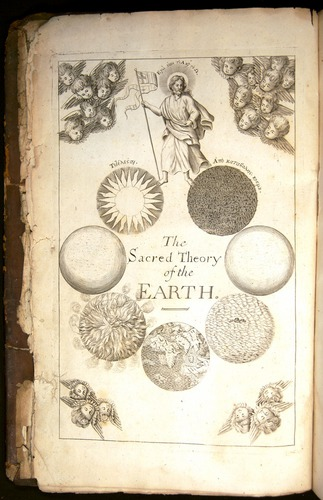 Thomas Burnet, Theory of the Earth (London, 1684), frontispiece