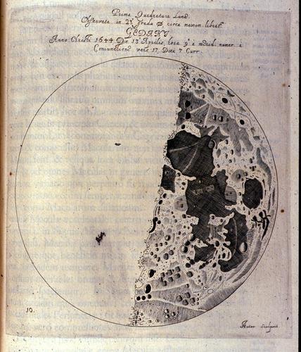 Hevelius, Selenographia (1647)