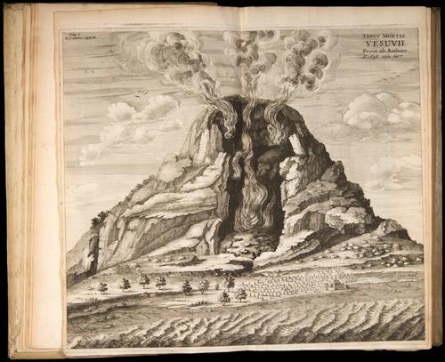 Athanius Kircher. Mundus Subterranus. (Amsterdam, 1665)