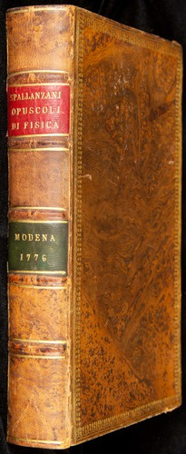 Image of Spallanzani-1776-v1-000-book
