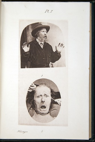 Darwin, Emotions (1872), heliotype
