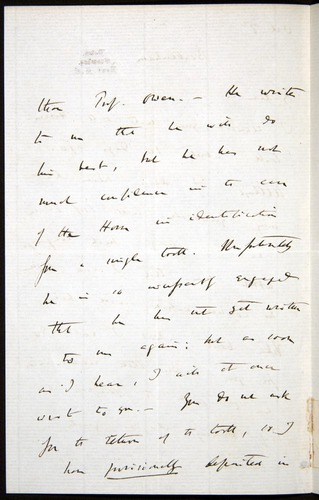 Image of Letter-1869-Oct7-Darwin-02
