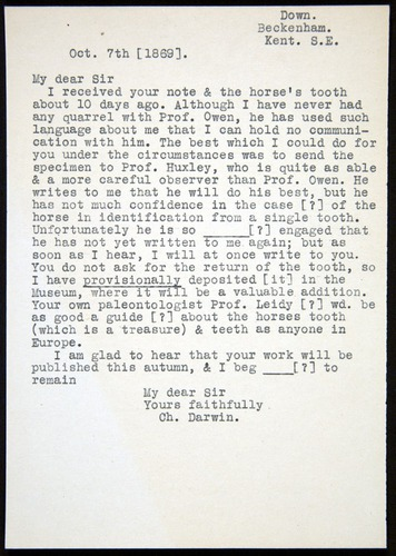 Image of Letter-1869-Oct7-Darwin-transcription