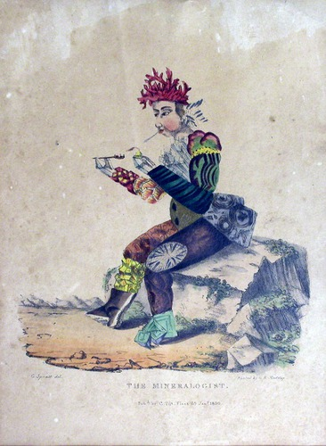The Mineralogist. Pub'd by C. Tilt, Fleet St., Jan'y 1830, courtesy University of Oklahoma Libraries, History of Science Collections