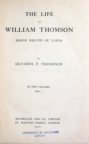 Image of Kelvin-1910-000tp