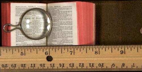 1927 miniature Bible