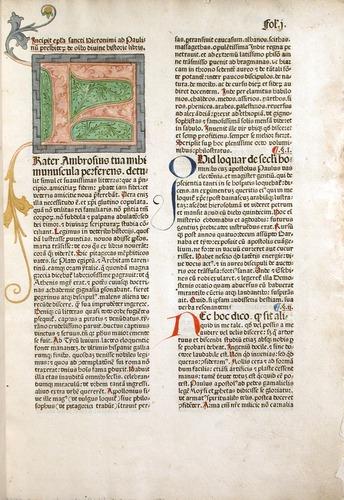 Latin Vulgate, Koberger, 1479.
