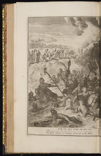 Image of Hoet-1728-052v-Exod14-23-28
