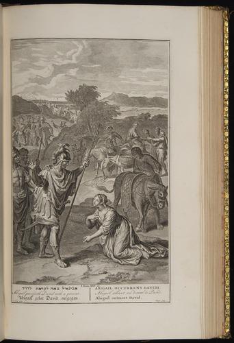 Image of Hoet-1728-118r-1Sam25-23