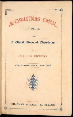 Charles Dickens, A Christmas Carol (1843)