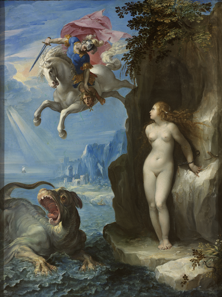 Perseus-and-Pegasus-saving-Andromeda-from-Cetus---underluckystars