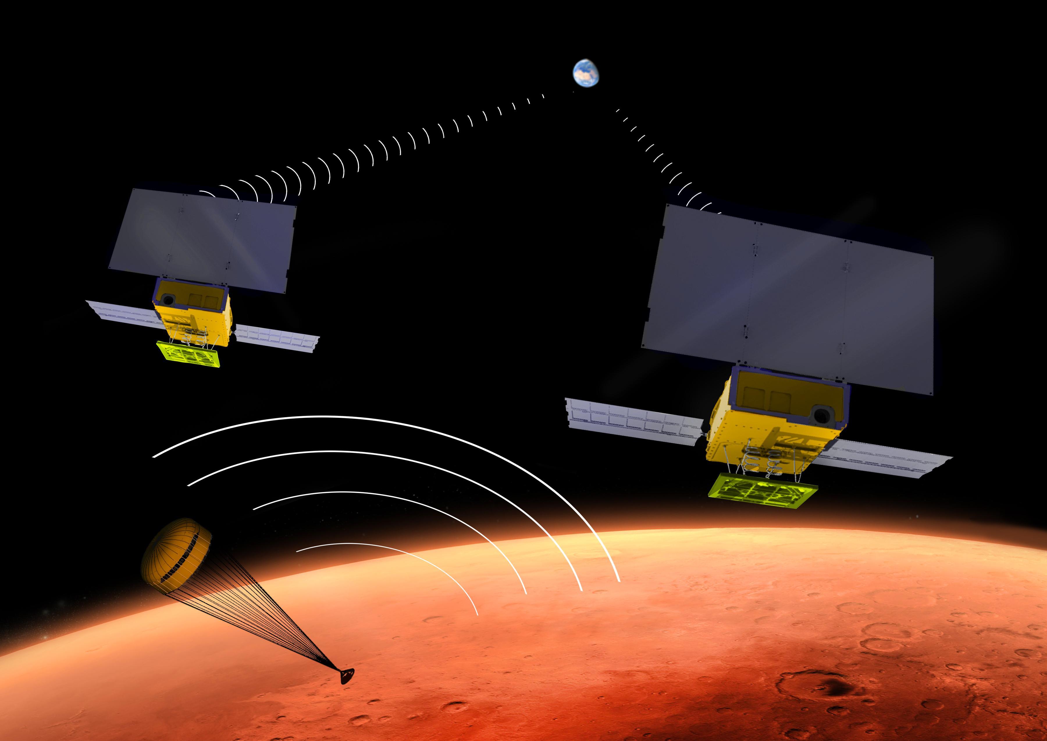 Landing-of-InSight-on-Mars---underluckystars