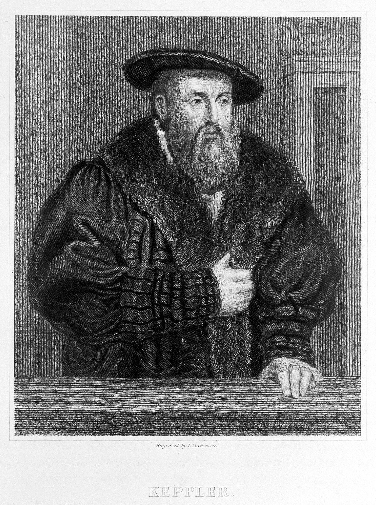 Johann_Kepler._Line_engraving_by_F._Mackenzie._Wellcome_L0010324