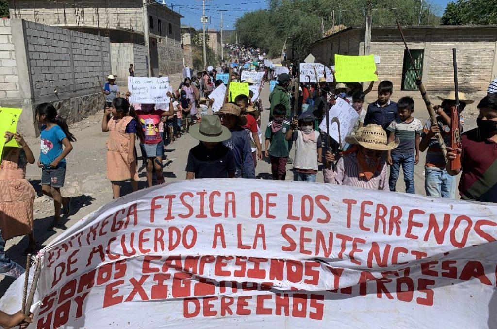 Piden resolver pugna agraria entre Oapan y Tepecoacuilco; lleva 40 años
