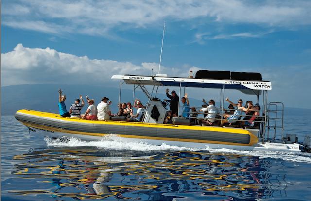 Lahaina Ocean Rafting Tour