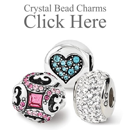 Crystal Bead Charms for Bracelets