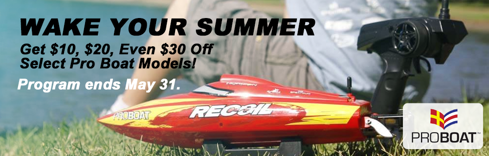 Wake Your Summer Pro Boat Promotion