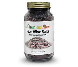Fresh And Alive Five Alive Scalar Salts