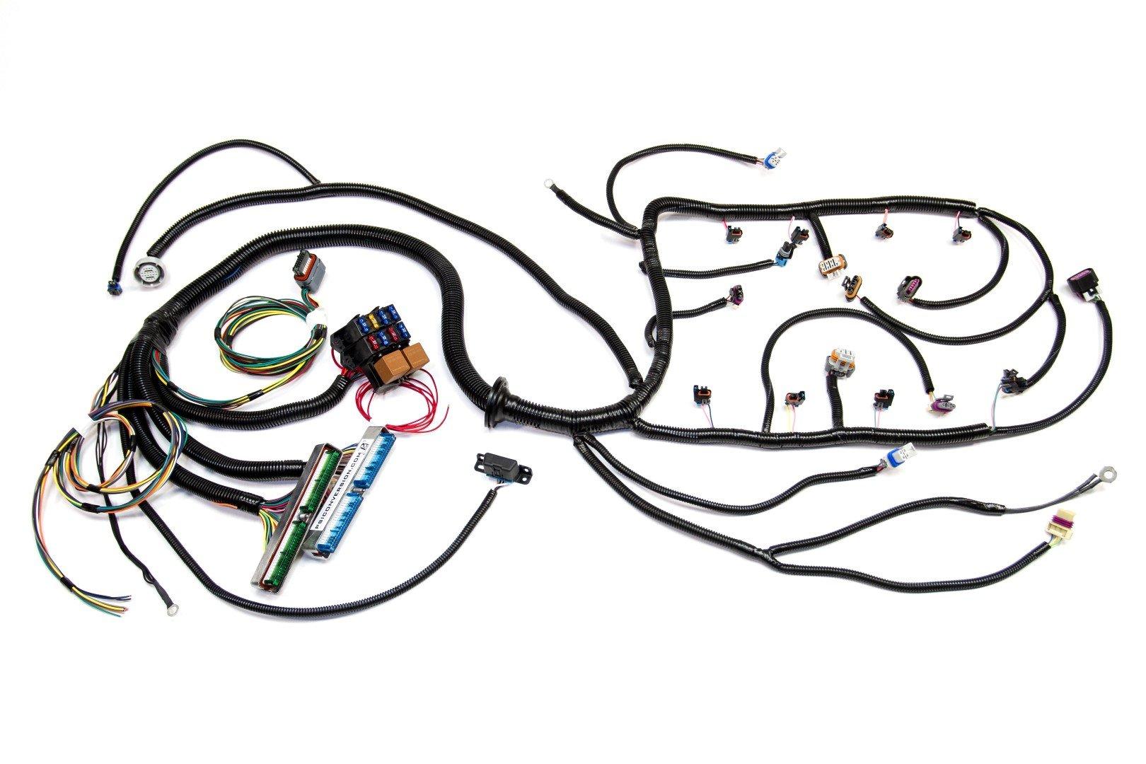 '07 vortec w/ 4l60e standalone wiring harness (dbw) w · '