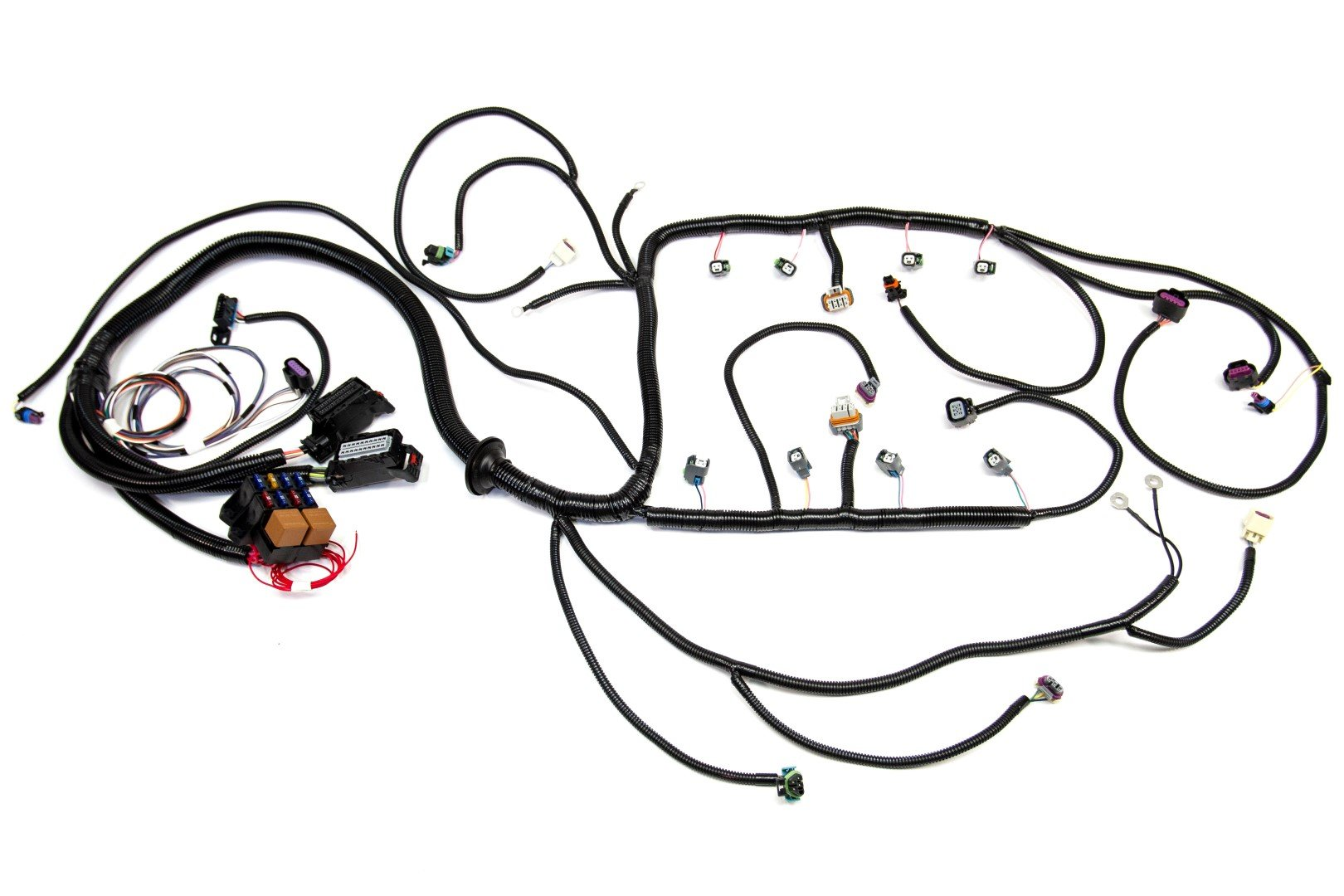 ly2 Delphi Wiring Harness Connectors 08 lm5 lmg 5 3l standalone wiring harness w