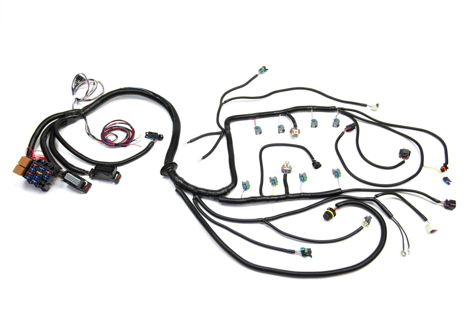 2008 - 2015 LS3 (6.2L) STANDALONE WIRING HARNESS W/6L80E  Toyota Engine Wiring Harness on toyota 5l engine installation, toyota engine fuel injectors, toyota windshield wiper arm, toyota engine oil pump, toyota cylinder head, toyota engine brackets, toyota engine valve, toyota strut mount, toyota pickup fuse diagram, toyota body control module, toyota ignition control module, toyota engine hose, toyota engine thermostat, toyota engine controller, toyota engine fan, toyota rav4 2.4l engine, toyota flasher relay, toyota emergency brake parts, toyota fog light bulb, toyota engine exhaust manifold,